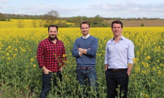 YAGRO Founders: Richard Sears, Gareth Davies, CEO and Dan Jolly, Head of Business Development